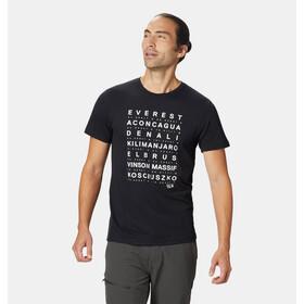 Mountain Hardwear Seven Summits T-shirt Homme, black